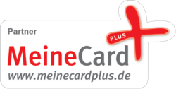 meine card plus logo